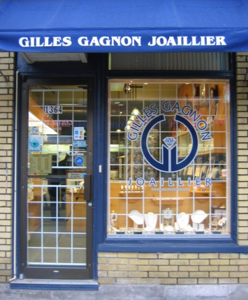 Entrez et découvrez notre bijouterie-joaillerie où vous serez reçu de façon attentionnée par Gilles Gagnon et sa conjointe Line.