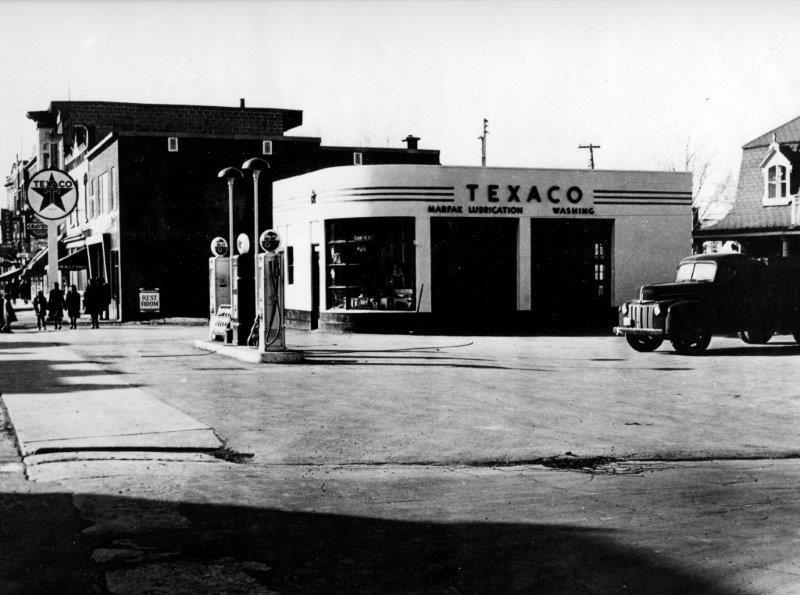 Garage Chemin Sainte-Foy vers 1945