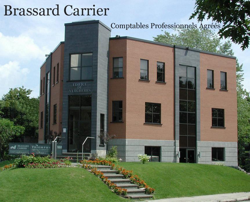 Brassard Carrier,  Comptables professionnels Agréés
