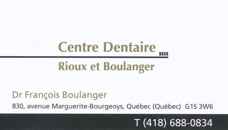 Centre Dentaire Rioux et Boulanger