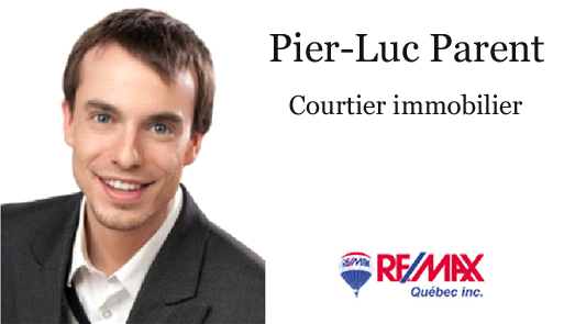 Pier-Luc Parent, agent Remax