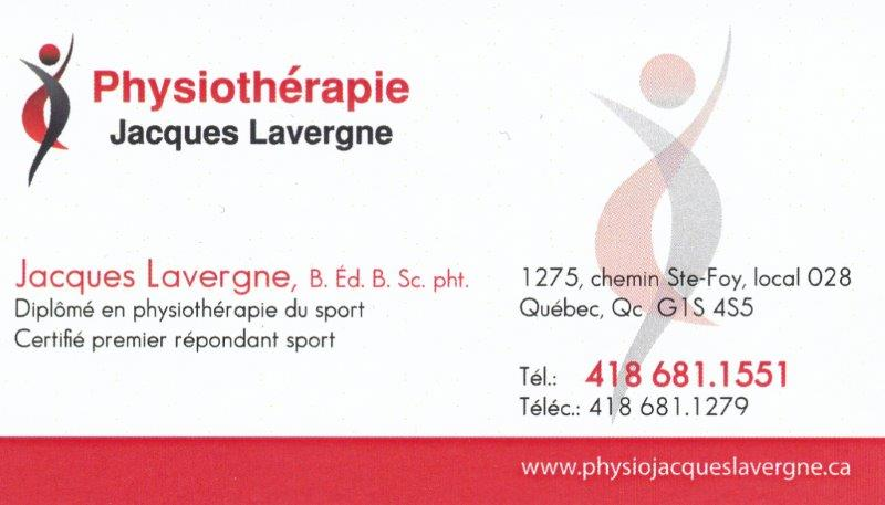 Physiothérapie Jacques Lavergne Inc.