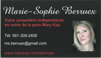 MBS Conseillère indépendante en soins de beauté Mary Kay