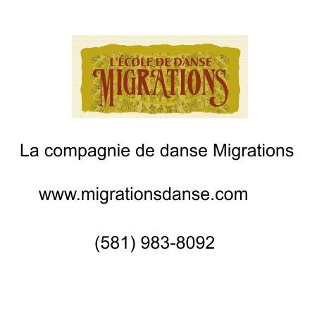 La compagnie de danse Migrations