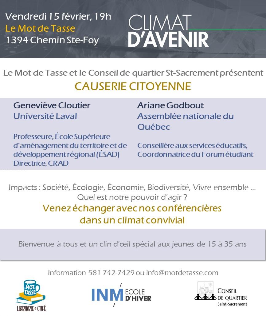 Le Mot De Tasse Activités De Février 2019 Quartier Saint Sacrement